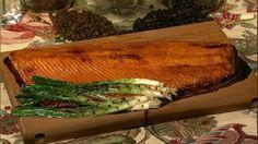 Michael Symon's Cedar Plank Salmon