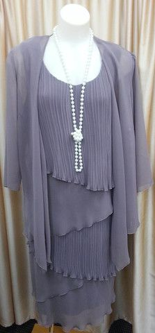 Dress and Jacket Set 104 | Isabella Fashions | Mother of the bride dresses, plus sizes, and evening wear
