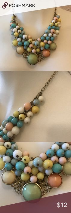 Nordstrom Statement Necklace🌟 Nordstrom Statement Necklace such a fun cute Necklace in excellent condition, all beads and clasp intact, thanks for looking 😊 Nordstrom Jewelry Necklaces