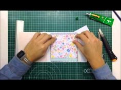 Making and decorating a mini album for a few photos - TUTORIAL Scrapbook