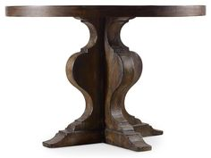 "Hooker Furniture Dining Room Willow Bend Round Pedestal Dining Table  No price listed  SKU 5343-75203    44""rd"