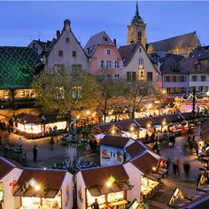 Colmar, France.....wine country and fairytale in one.