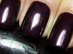 """OPI """"Vampsterdam"""" perfect fall purple"""
