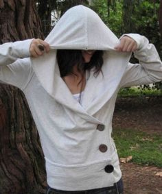 hoodie makeover