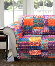This Multi-Patterned Furniture Protector is perfect! #zulilyfinds
