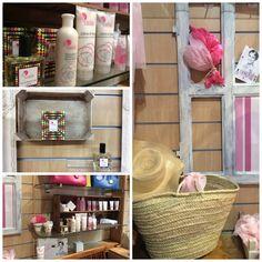 Compartiendo la magia de nuestra rosa en...La Tienda de Almudena