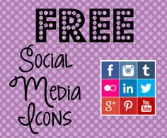 Mama's Got It Together: Free Social Media Icons- 5 Great Sites!