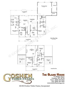 timber frame plans (1st story so close to our dream home!)
