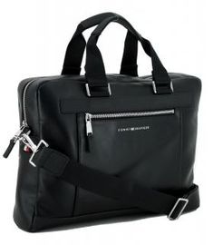 !!!Tommy Hilfiger Aktentasche Metro Computer Bag schwarz Tommy Hilfiger, Computer, Gym Bag, Bags, Laptop Tote, Artificial Leather, Black, Handbags, Bag