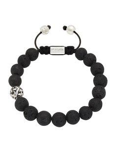 Lava Stone Bracelet | Nialaya Jewelry