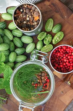 """How to grow Mexican Sour Gherkins, and what to do with them:     """"Doll's house-sized 'watermelons' that taste of pure cucumber with a tinge of lime. These little guys are officially the cutest food known to man & oh-so-easy to grow even for real beginners.""""    From James Wong"""