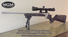 Match Grade Machine (MGM) specializes in Thompson Center Contender barrels and accessories. TC Encore as well TC Contenders. Get custom built TC Contenders. Weapons Guns, Guns And Ammo, Thompson Center, Lever Action Rifles, Hunting Guns, Arm Armor, Stuff And Thangs, Cool Guns, Black Labs
