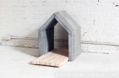 Dog-I-Y: How to Make a Modern Concrete Dog House