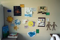 TIMELINE ACTIVITY ONE  Creation and the Fall  2014-2015 School Year Days of Creation Crafts! Lots of painting!