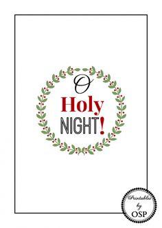 O+Holy+Night+Free+Christmas+Printable