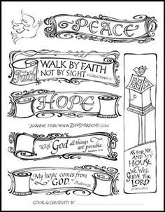 Check out the FREE Bible Journaling Jumpstart page by Joanne Fink of Zenspirations®.