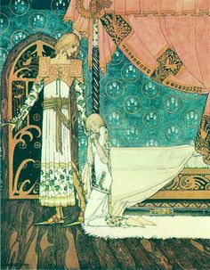 Kay Nielsen Tell Me The Way Then