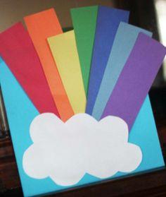 con arcobaleno