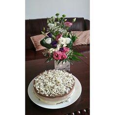 Triple chocolate mousse cake