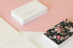 Pretty Business Cards @Jess Liu Comingore