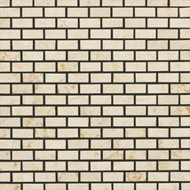 Crema Marfil Classico Brick Joint Polished - Marble Collection by daltile