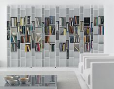 """Random Storage"" -- a customizable shelving system with endless possibilities"