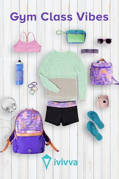 Gear up for the new season with lightweight and breathable athletic wear for girls from ivivva, by lululemon. Featuring sports bras and crops to yoga mats and totes, you'll find everything you need to help you achieve your goals. For athletic wear made to move, check out ivivva.com.