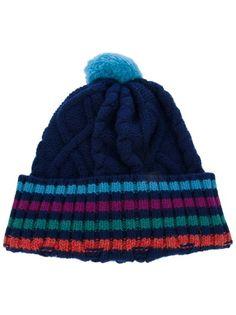 6e47c282586 Shore Leave Twist Bobble Hat in Green