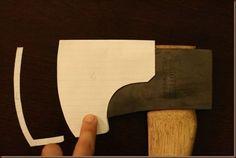 making leather axe sheath. Really nice basic tutorial.:
