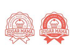 Sugar Mama logo design by Tyler Anthony -- Looks tasty!