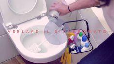 Come pulire il wc con il bicarbonato