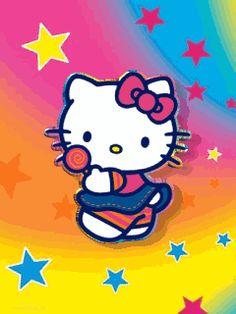 Moving 3D Hello Kitty Screensaver | ... для qip и icq: котенок Хэллоу Китти, Hello Kitty