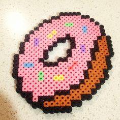Donut perler beads by melanieejane