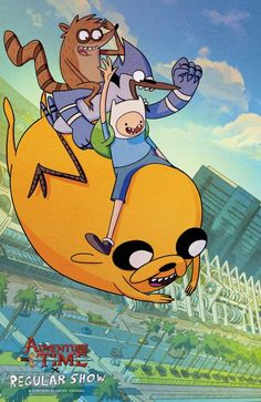 All Of Boom Studios Exclusives For San Diego Comic-Con 2017, Starting With An Adventure Time/Regular Show Crossover #SDCC17