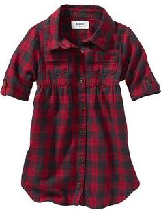 Plaid Shirt-Dress for Baby | Old Navy