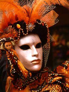 Disfraces y máscaras del Carnaval de Venecia - Italia