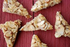 Almond Triangle Cookies (gluten-free)