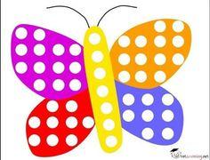 butterfly do a dot | funnycrafts