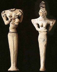Figuras de Terracota- Procedentes de Ur-Mesopotamia