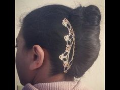 Simplistic Designs Hair Comb + French Twist for LONG hair!!! | Lucy's Corsetry - YouTube