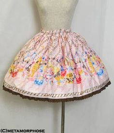 Lolibrary   Metamorphose Temps de Fille - Skirt - CL / Sweets Parade Mini Skirt