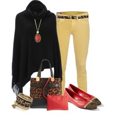 """leopard"" by marnifox on Polyvore"