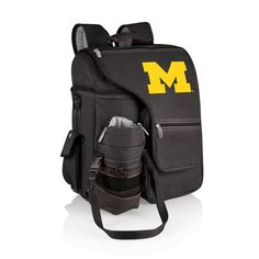 University of Michigan Wolverines Day Trip Picnic Backpack Travel Cooler