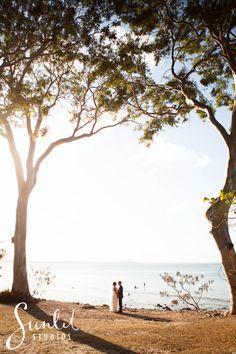 Noosa Wedding Photo at Noosa National Park.