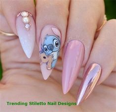 Sexuality Acrylic Stiletto Nails In 2019 Summer Sexuality Acrylic Stiletto Nails In 2019 Summer Nail Art Connect stilettonails summernails acrylicnails Disney Acrylic Nails, Summer Acrylic Nails, Best Acrylic Nails, Summer Nails, Pastel Nails, Acrylic Art, Cute Acrylic Nail Designs, Nail Art Designs, Disney Nail Designs