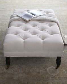 square tufted ottoman coffee table | ottoman is similar to the