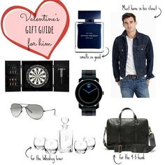 Valentine's Gift Guide For Him • Uptown with Elly Brown