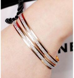 I'm auctioning 'GOLD Glitter Bangle Bracelets - lot of 2' on #tophatter