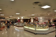 Daimaru Department Store's basement food floor is arguably the best food market in the entire city.