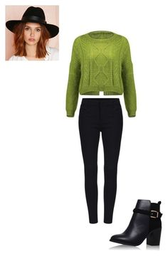"""""""#231"""" by snows22 on Polyvore featuring moda, Topshop e San Diego Hat Co."""